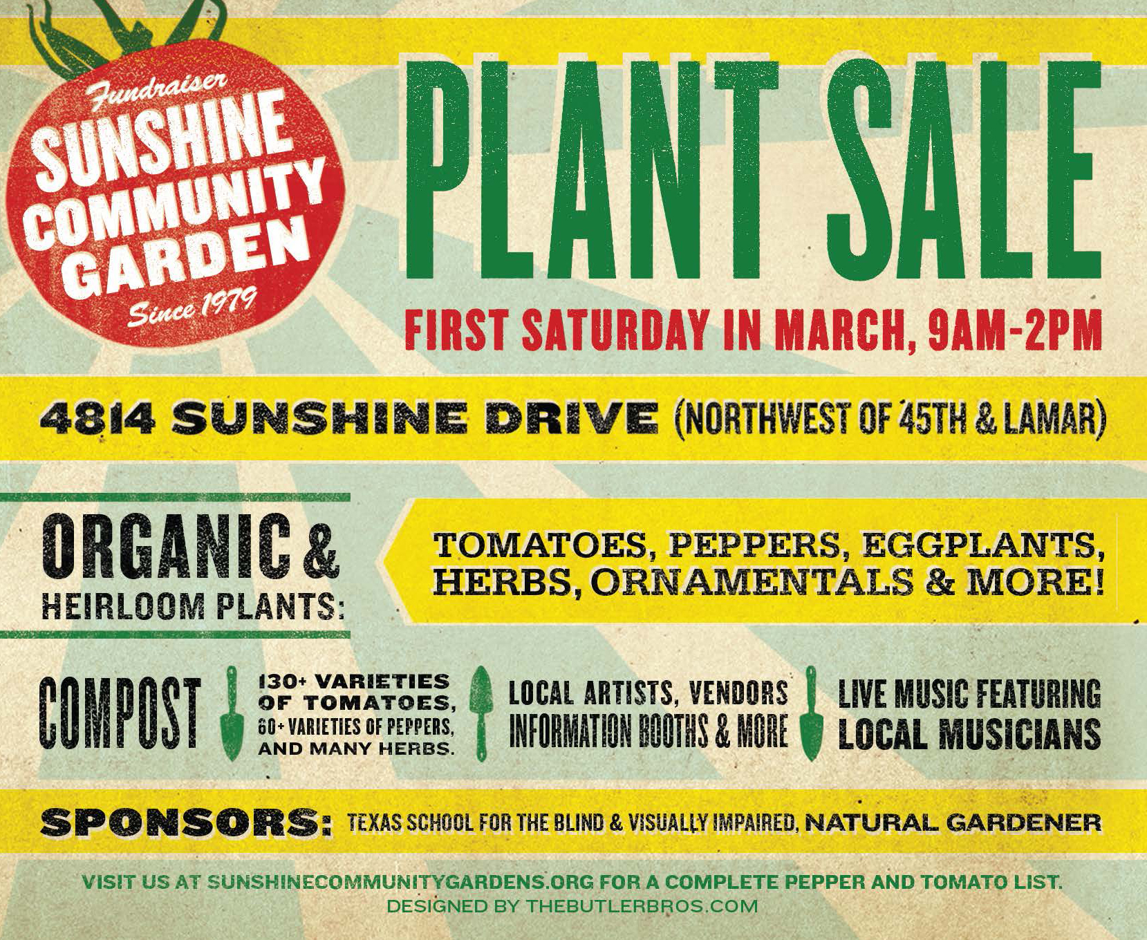 SCG Plant Sale Post Card